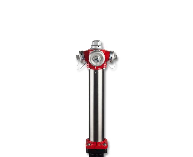 Above ground hydrants for fire protection