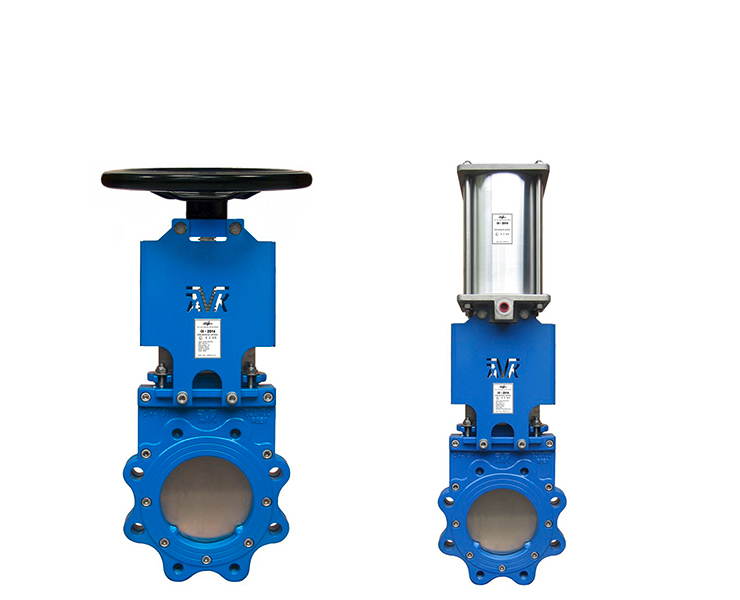 Knife gate valve products for waste water