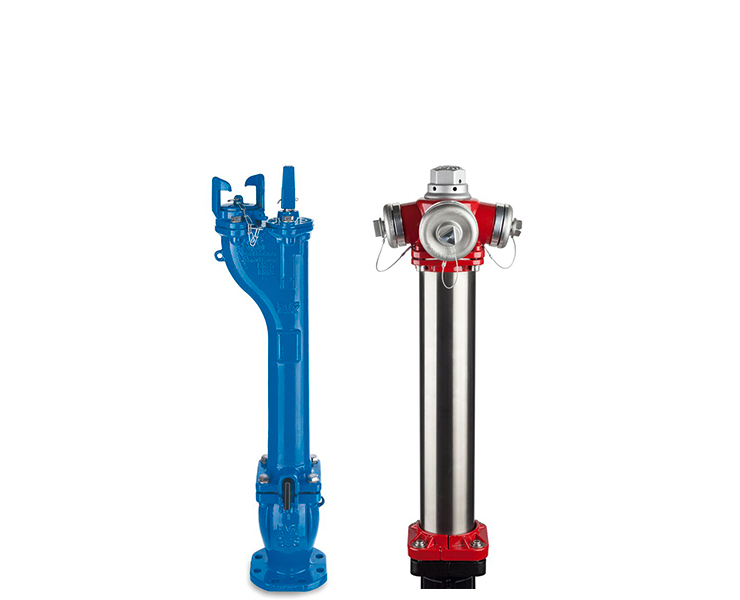 AVK fire hydrants for water supply