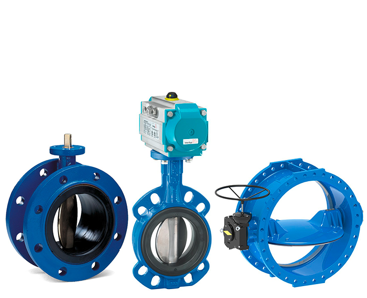 Water butterfly valves products